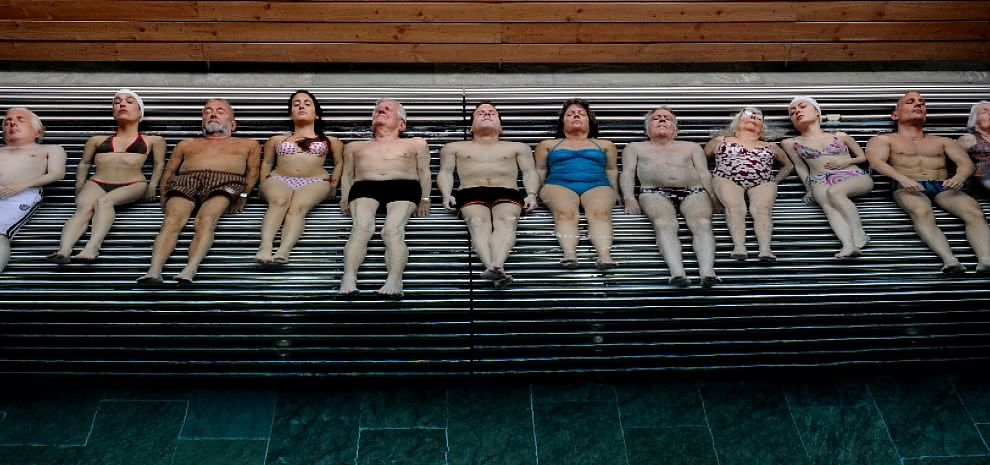 """Un'inquadratura tratta dal """"La Giovinezza"""" di Paolo Sorrentino, una delle prime tv del nuovo canale Premium Cinema 2"""