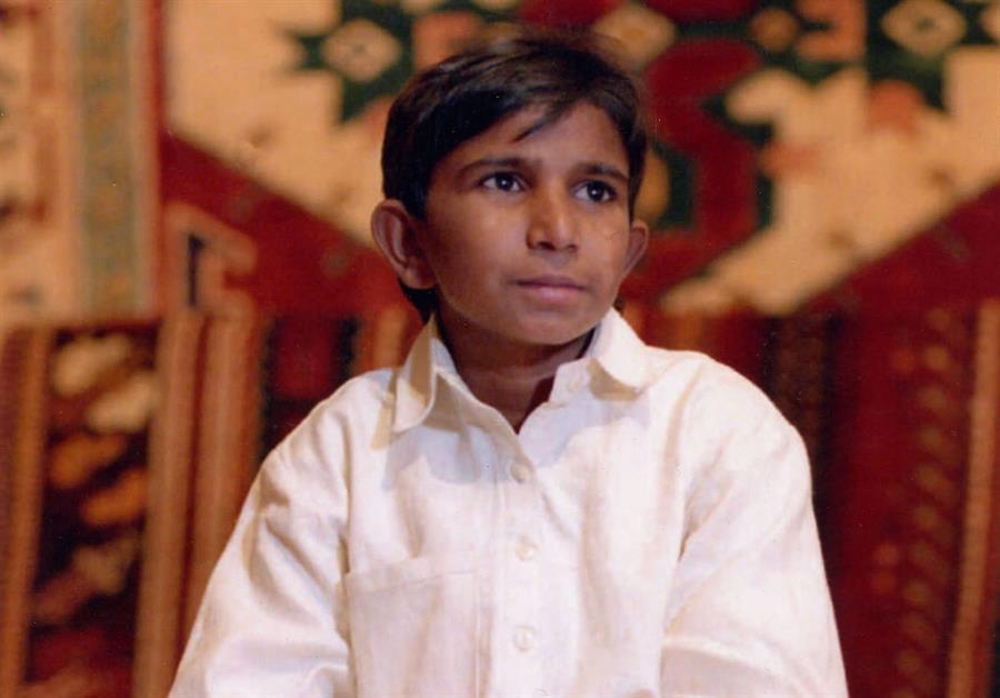 Una foto di Iqbal Masih, alla cui storia è ispirato il film
