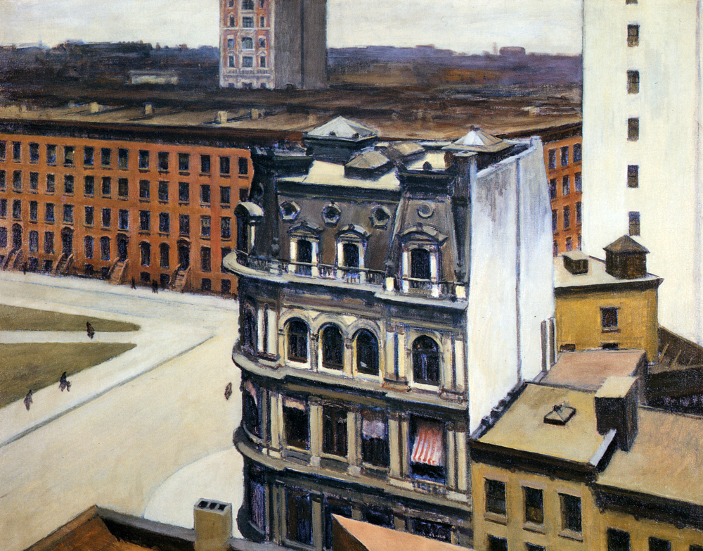 """The City"" di Edward Hopper"