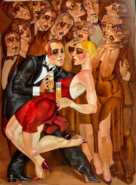 """I ballerini di Tango"" di Juarez Machado"